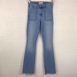Gap 1969 Sz 28T Baby Boot Patch Pockets.